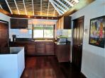 A modern kitchen with all the amenities! Including free Wifi and a safe.
