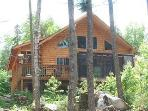 Lake Front Maine Cabin on Cold Stream Pond