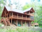 River Rock Cabin Riverfront Retreat