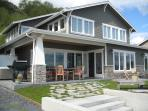 Luxury Cape Cod on Sandy Beachfront,  S. Whidbey