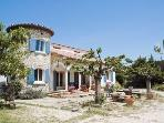 Stunning 2 bedroom holiday house in the middle of the Provence countryside