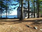 Lakefront Cottage with Downeast Decor: Tripp Lake