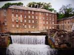 Arkwright's Mill, Cromford~ Cradle of The Industrial Revoloution (30mins. S.West by car)