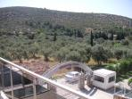The community is surrounded by  olive groves but only a mile from the town centre