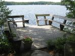 Enjoy Maine Lakefront Cottage any time of year!