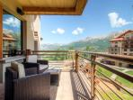 In the center of the action - Private deck, Mountain Village core - The Plaza at Granita