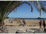 Tranquil beaches within walking distance