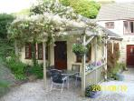 2 bedroom conversion with outside garden area