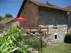 Delightful detached stone cottage in rural Creuse