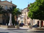 Leucate village, restaurants, shops, bars. Traditional old French village with superb atmosphere.