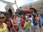 Why not travel the train to Hogwarts - The Wizarding World of Harry Potter - Universal Studios