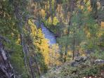 Pic from hiking path at the famous Oulanka canyon