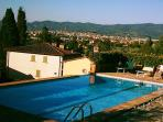 POOL with view of Arezzo