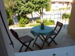 Terrasse in the front