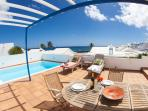 Villa Naos with Private pool and sea Views !