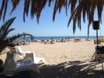 At only a 10 minute drive wide Vilanova beach, beautiful and well worth seeing.