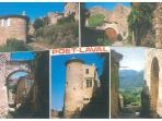 The village - postcard