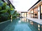 Zanti Villa,ultra modern 2 bed/bath,near Seminyak