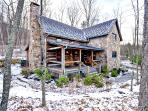 Shepherd's Cottage - Beautiful pet friendly log cabin situated in the Sheep Meadow neighborhood of Homestead Preserve