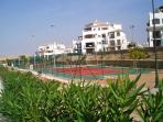Resort tennis courts  for your enjoyment!