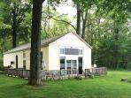 Historic 'Ice House' Lakefront Cabin