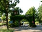 Country club entrance - 24/7 security