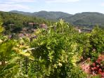 Lower Garden Views over the Chianti Hills