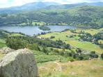 View of Grasmere from Helm Crag