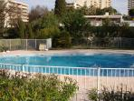 Riviera Park: Holiday apartment rental with pool, 5 minutes from the beach in Antibes