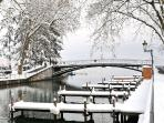 Annecy in winter