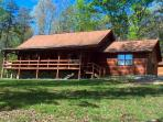 Log Home in Beautiful Private Setting on 10 acres with Pond