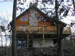 The Log Cabin, on 10 Wooded Acres, Near Launch