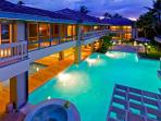 Palatial  Oahu Lani - Beachfront, Ideal for Large Family or Corporate Retreat