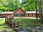 Comfortable mountain cabin ensures privacy for an economical vacation!