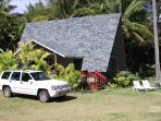 BEACHFRONT COTTAGE WITH FREE JEEP & WI-FI  !!!!