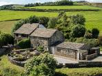 WHITELEY ROYD FARM, pet friendly, luxury holiday cottage, with a garden in Hebden Bridge, Ref 5698