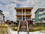 Exquisite Vacation Home-Directly On the Beach-FREE Golf & Parasailing!
