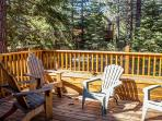 Plenty of seating in the backyard to enjoy the views. This give you a great private feel