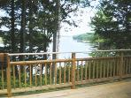 view of the deck