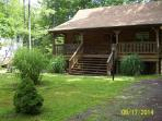 POCONOS LOG CABIN VACATION RENTAL