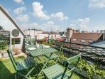 Sunny 1BR with Terrace in 1st Arrondissement