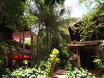 Stylish Traditional Khmer Style houses viewed from our jungle gardens