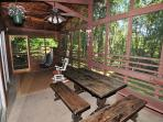 Charismatic 3 Bedroom home with screened in porch & hot tub!