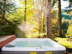Last, but not least, the hot tub