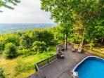 Laurel View Retreat -The most spectacular view awaits you! BEST SELLER!!