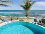 Picturesque Villa Key Lime with a beach perfect for swimming and surfing