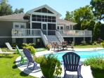 Private Pool | One Level Vacation Rental Charlest