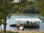 Lake Table Rock Lakefront Cabin with boat slip!