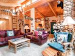 Moose-tacular, Uniquely designed 2 Bedroom plus Loft features Rustic Moose Theme Throughout
