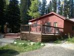 Streamside Cabin Close to Casinos and 4WD Trails